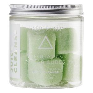 NWOT Exfoliating Sugar Cubes in Juice Cleanse
